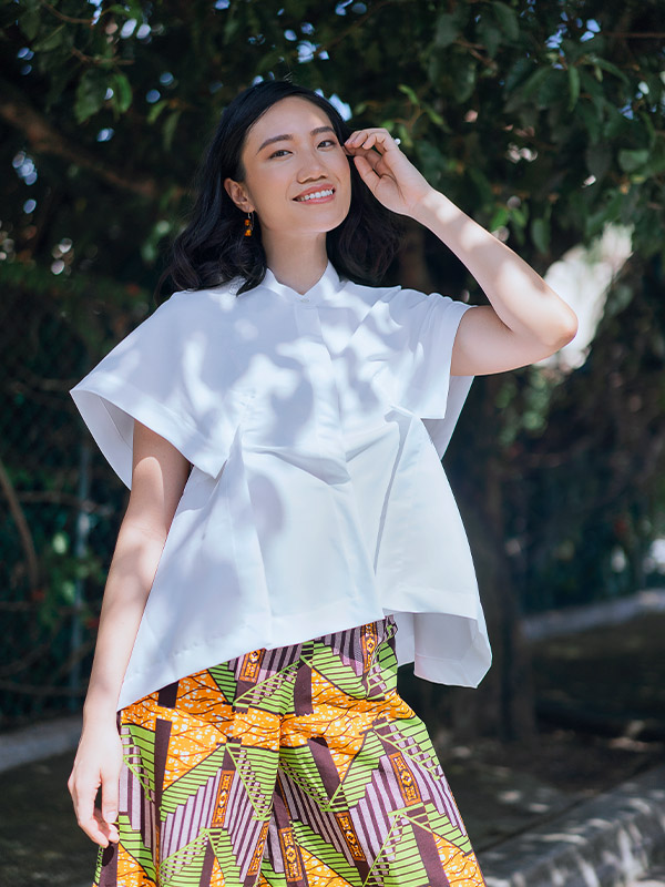 Eunice Shirt Number White