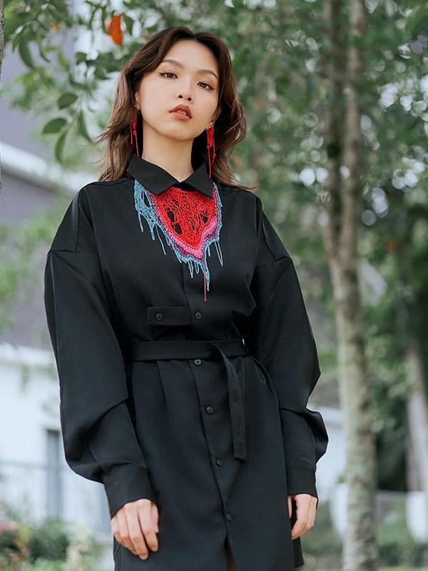 Vivien Black look